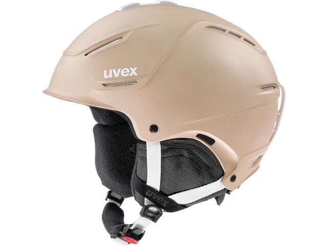 UVEX P1Us 2.0 Kask, prosecco met mat